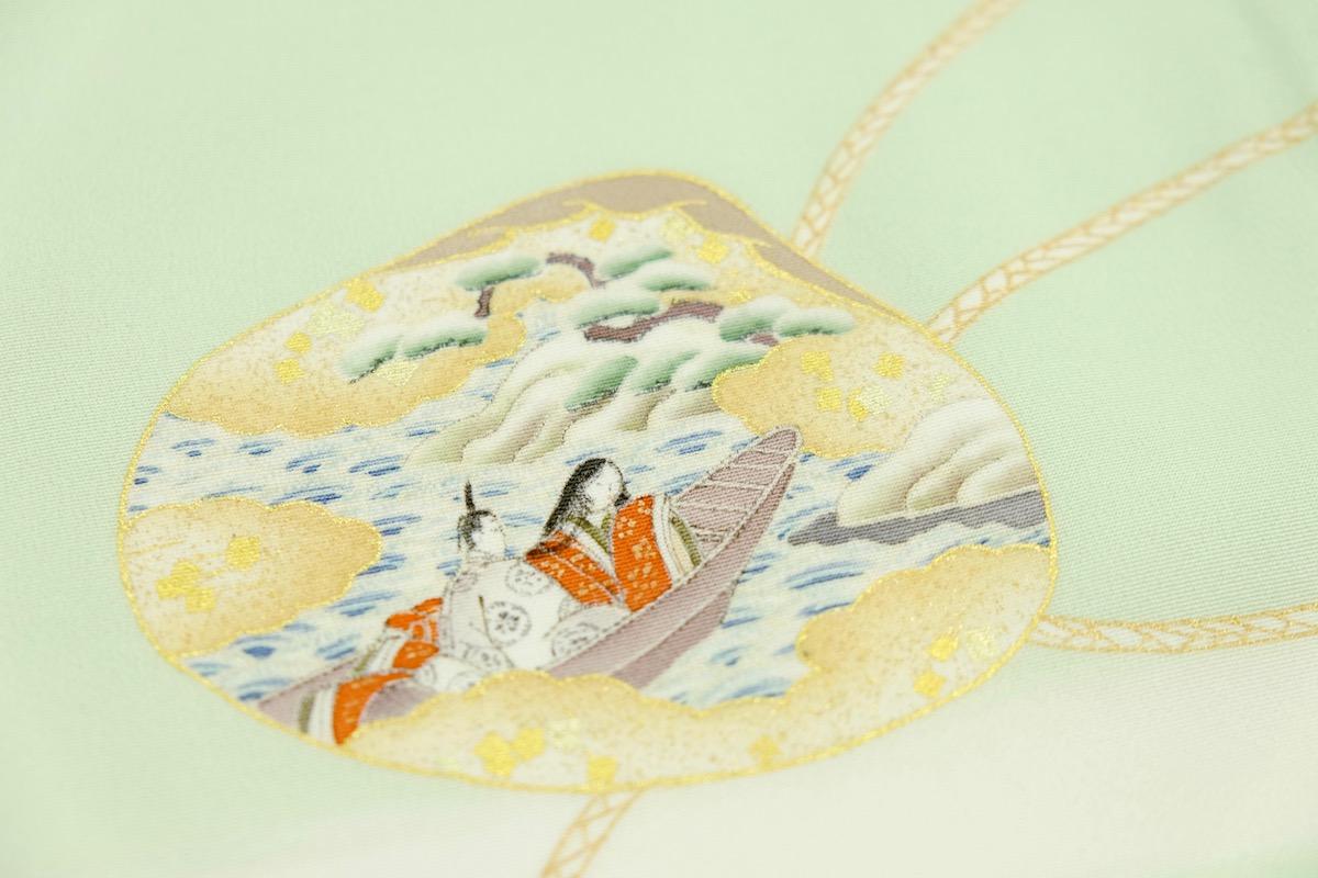 着物に使われる日本の伝統的な模様:源氏物語の宇治十帖「浮舟」