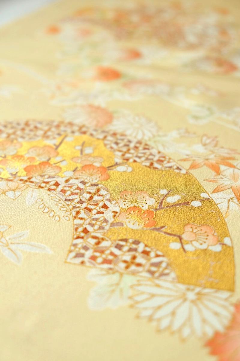 着物の模様の種類:地紙
