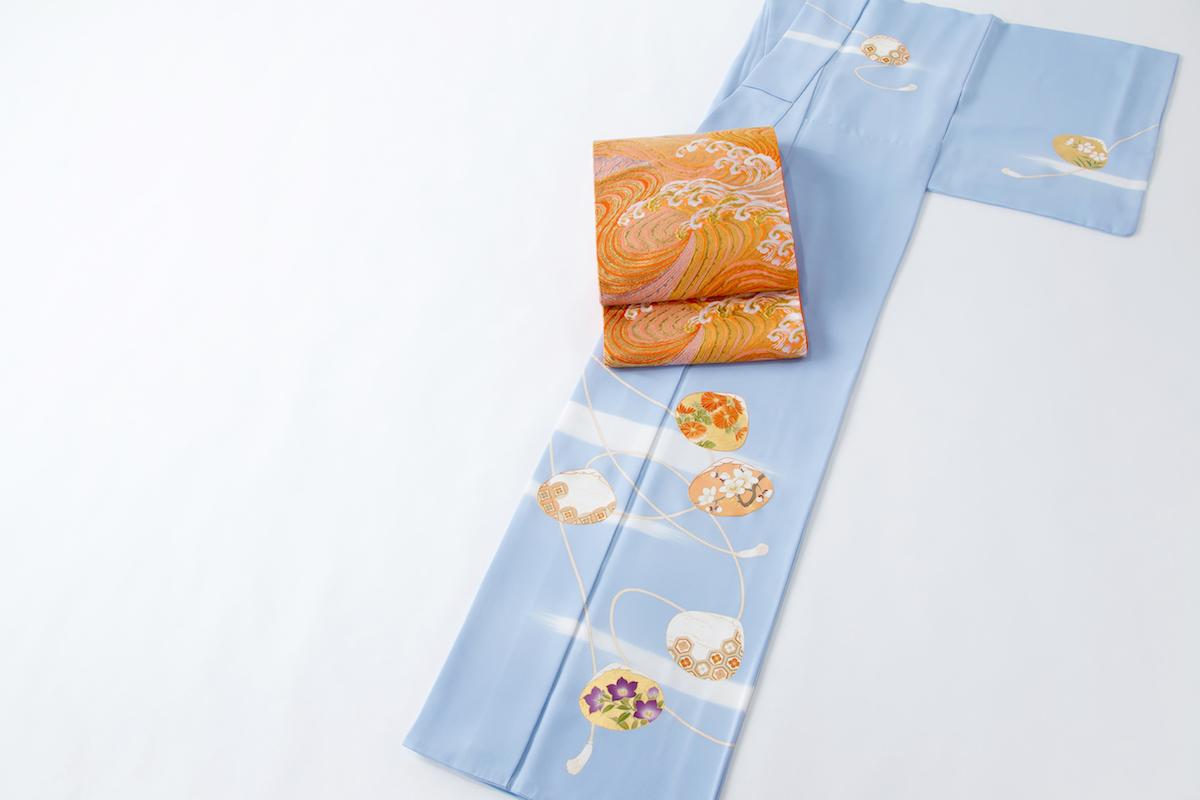 和服の種類:訪問着に格の高い袋帯をコーディネート