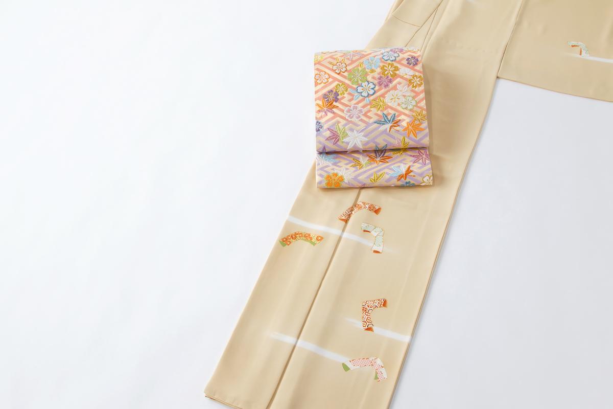 和服の種類:付け下げに格の高い袋帯をコーディネート