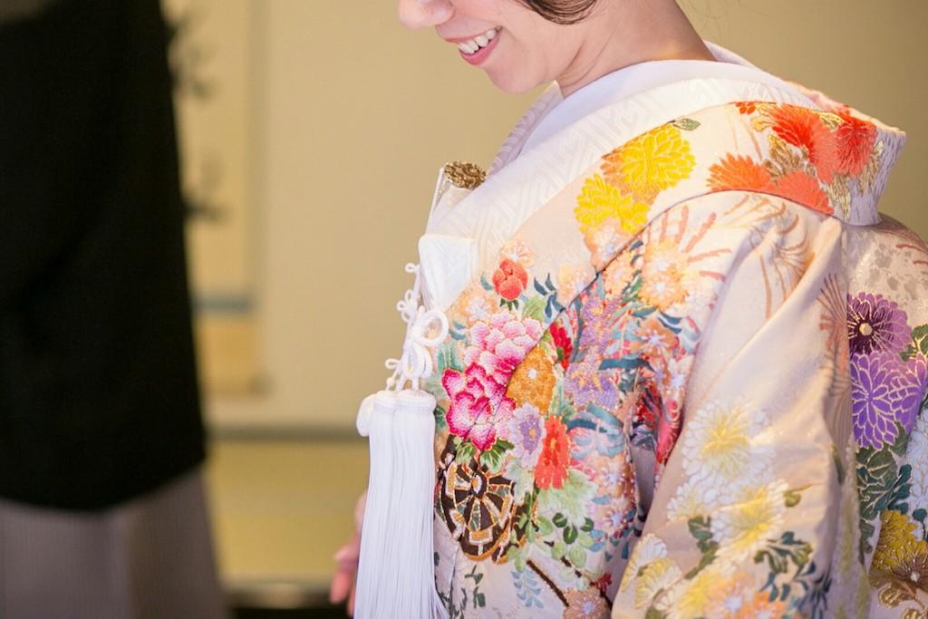 【和服の種類】最高の格をもつ打掛を着た女性