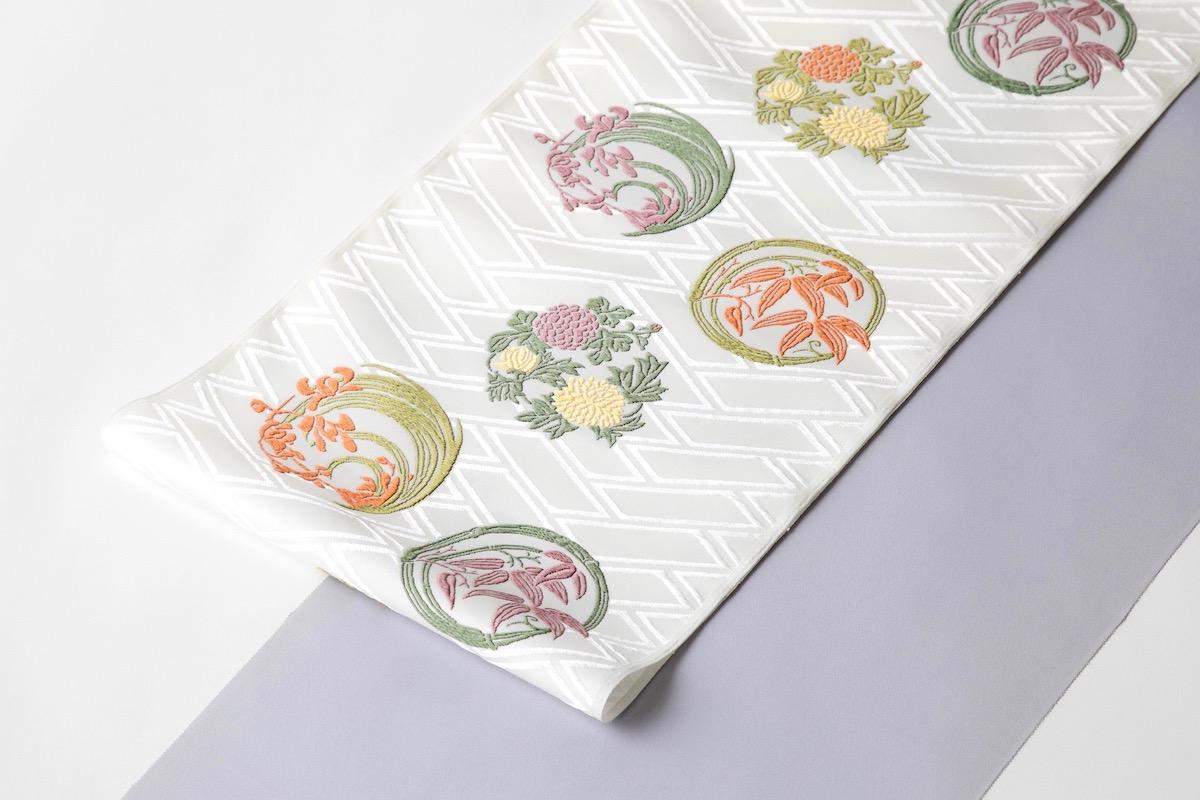 着物に使われる日本の伝統的な模様:有職織物