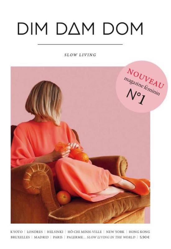 フランスの雑誌、創刊号dimdamdomの表紙