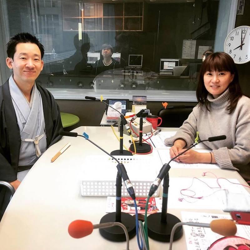 収録後、慶元まさ美さんと記念撮影