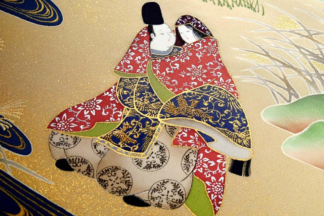 伊勢物語「芥川」在原業平とお姫様。